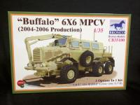 "1:35 Bronco Models ""Buffalo"" 6x6 MPCV (2004-2006 Production) Model Kit"
