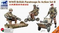 1/35 WWII BRITISH PARATROOPS IN ACTION SET B