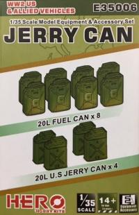 1/35 WWII US Jerry Cans and Allied Vehicles