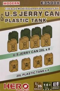 1/35 US Modern Jerry Cans and Plastic Tank