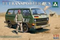 Bundeswehr Transporter Bus (With Figure)