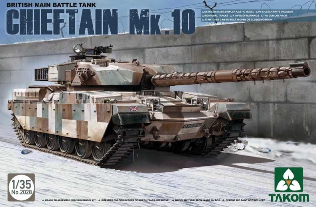 British Main Battle Tank Chieftan Mk.10